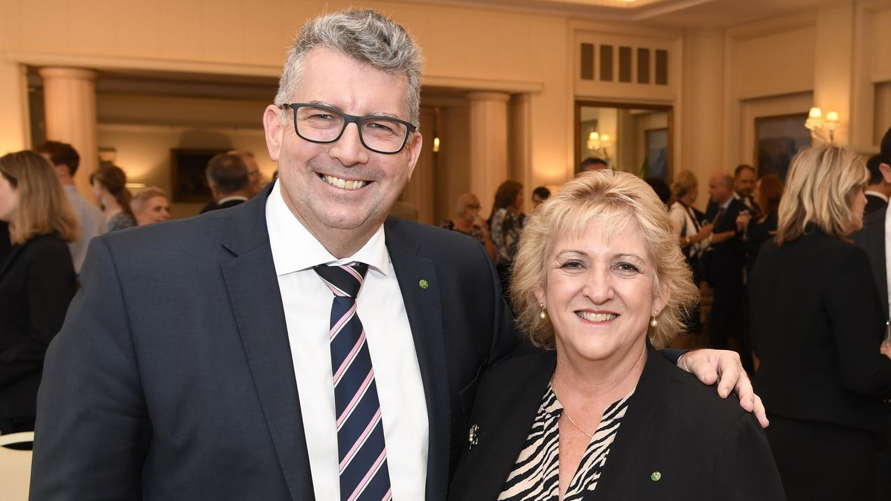 Minister Keith Pitt and Member for Capricornia Michelle Landry.