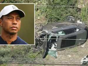 'Agitated': Startling Tiger crash claim