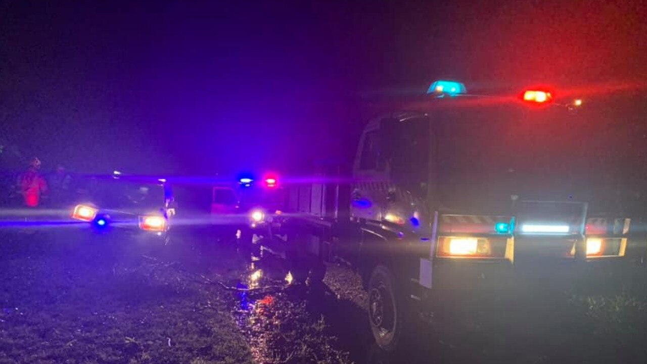 Emergency crews responded to a number of incidents after wild storms on Wednesday night.