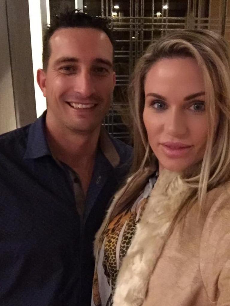 Paul Travis Callender and Amber Patrice Callender. Photo: Facebook