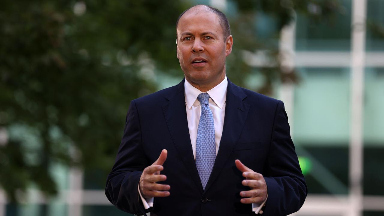 Treasurer Josh Frydenberg at Parliament House Canberra. Picture: NCA NewsWire/Gary Ramage