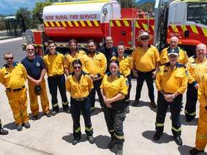 EARLY MARK: RFS call time on bushfire danger period
