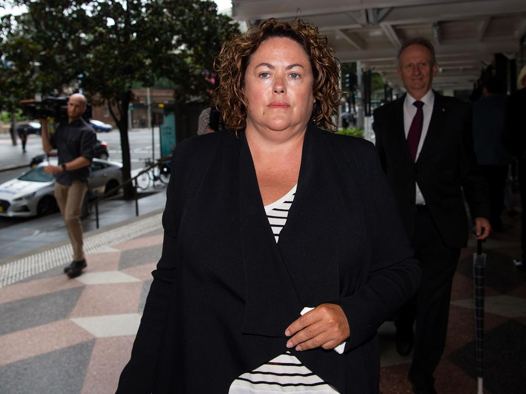 Rosemary Rogers outside court in Sydney. Picture: NCA NewsWire/Bianca De Marchi