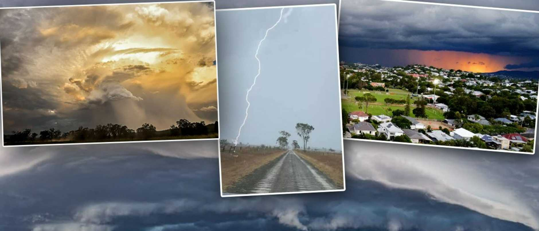 In pictures: Monster storm wreaks havoc across southeast Qld