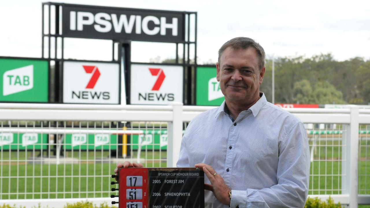 Ipswich Turf Club general manager Brett Kitching reflects on his final meeting in the role at the club on Wednesday. Picture: Claire Power