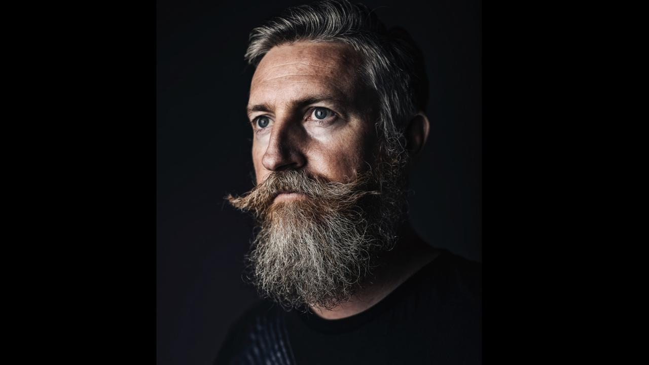 Portrait photographer Jason McNamara will project his artwork on the side of St Mary's Church in the SPARK Ipswich festival. Photo: Jason McNamara