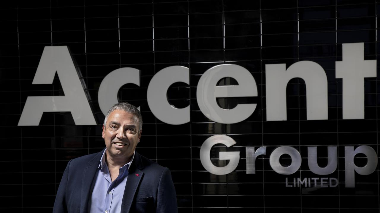 Accent Group CEO Daniel Agostinelli