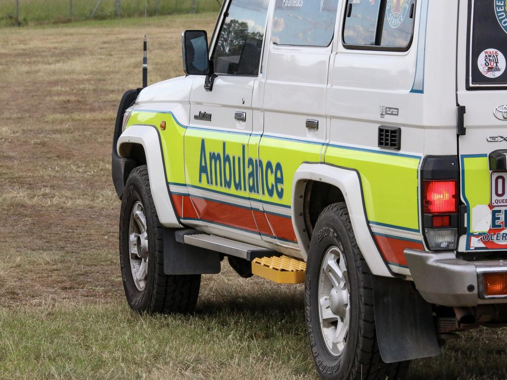 Queensland Ambulance Service generic ambulance. Picture: Dominic Elsome