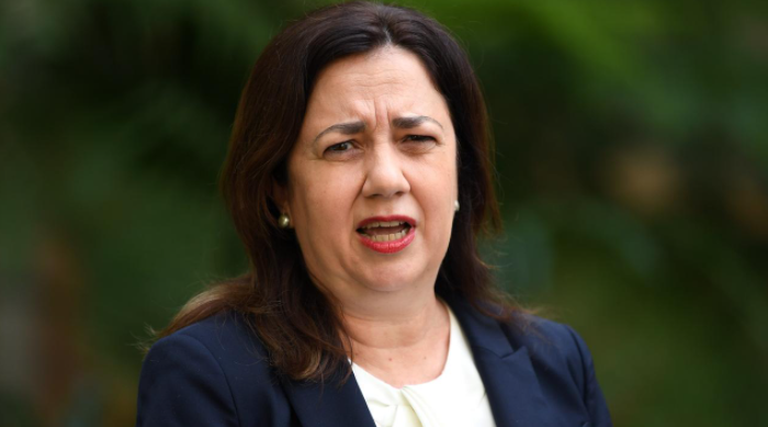 Premier Annastacia Palaszczuk as contacted Prime Minister Scott Morrison to request a national cabinet as soon as possible after two residents of a Brisbane nursing home were give excessive amounts of the COVID vaccine. Picture: Dan Peled