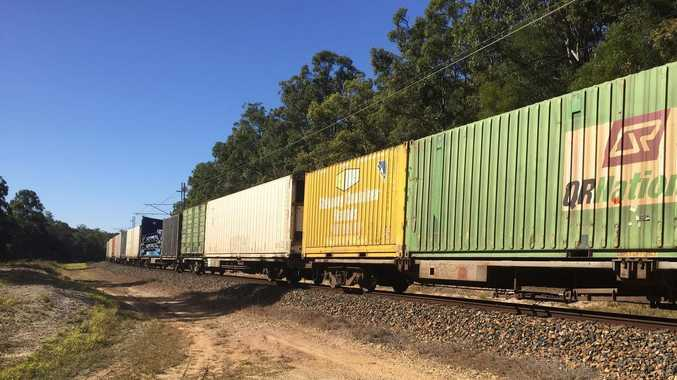Site quarantined after train derails near Coffs Harbour