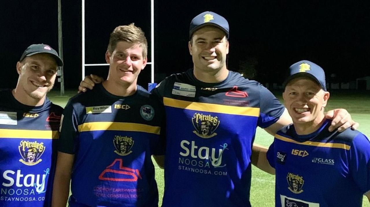 Former NRL star David Shillington will run out for the Noosa Pirates this weekend.