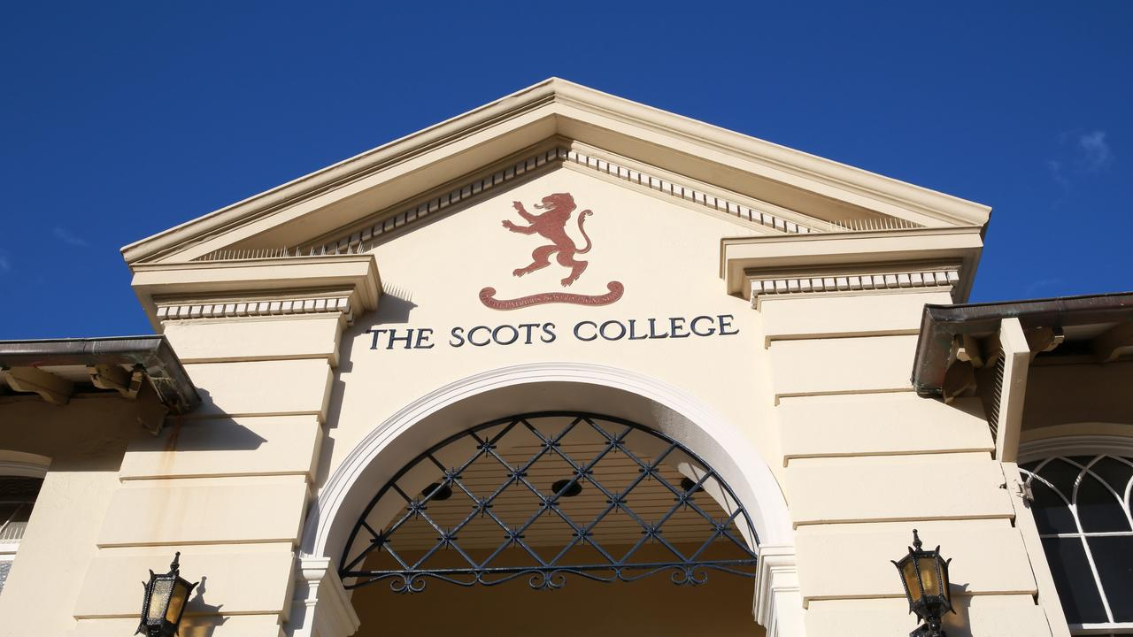 Scots College in Bellevue Hill was one of the schools repeatedly mentioned in the testimonies. Picture: Julian Andrews