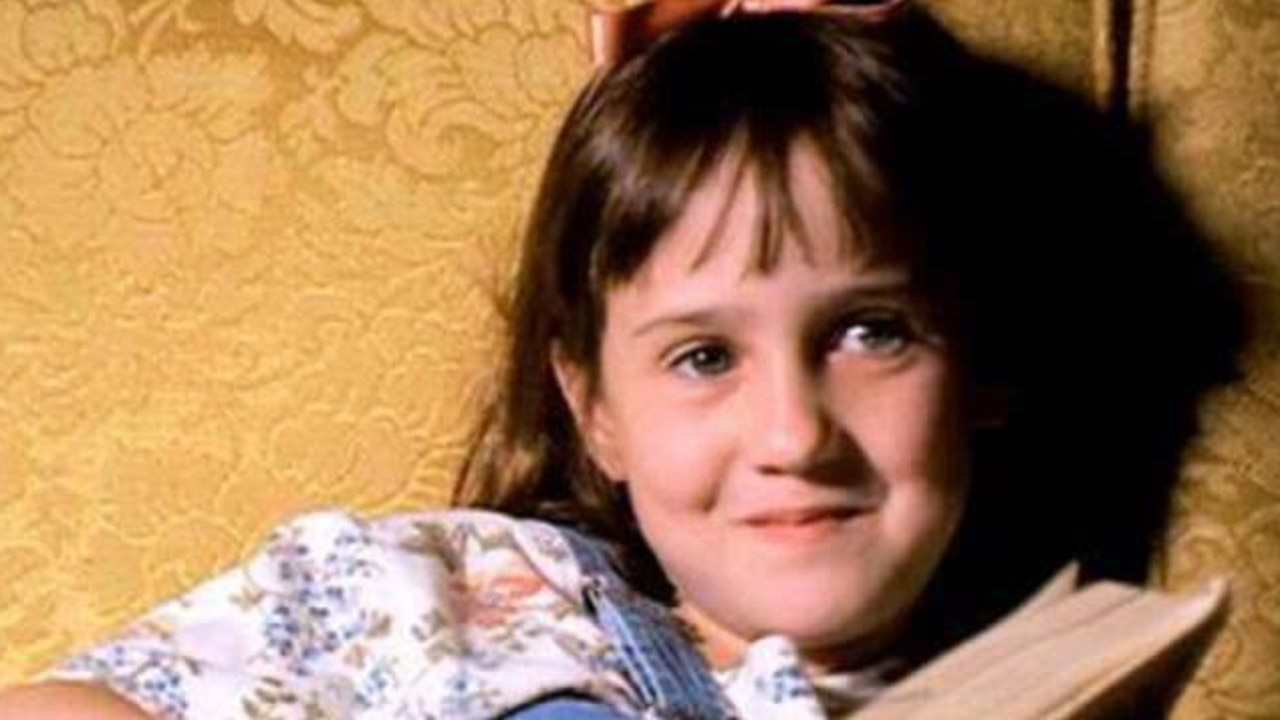 Mara Wilson, now 33, starred in a number of '90s blockbusters as a child, including Mrs. Doubtfire and Matilda. Picture: Supplied