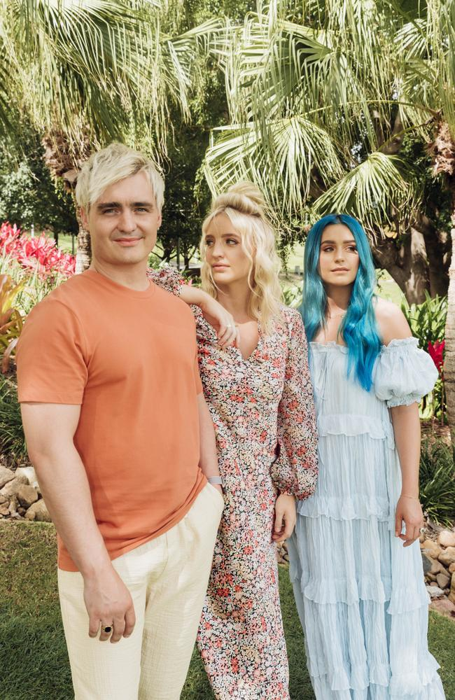 Sheppard, featuring siblings George, Emma and Amy Sheppard, drop their new album on Friday. Picture: Supplied