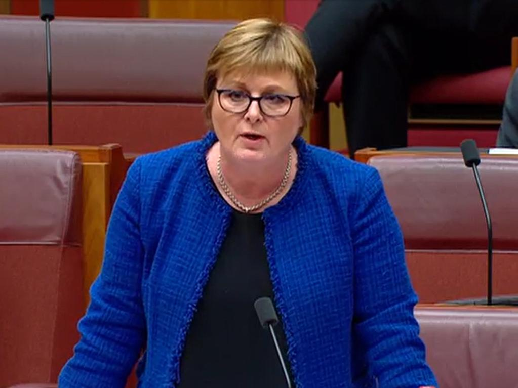 Senator Linda Reynolds has been under fire for her handling of the allegation.
