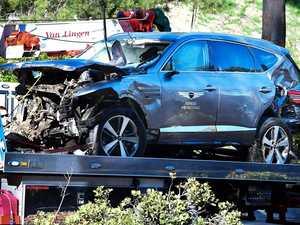 Woods 'unaware' how badly he was injured after shock crash