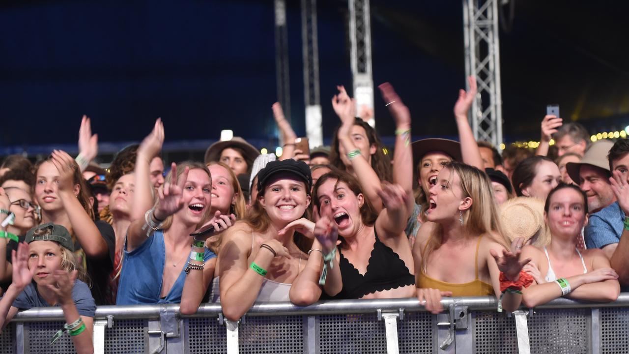 Bluesfest crowds back in 2018.
