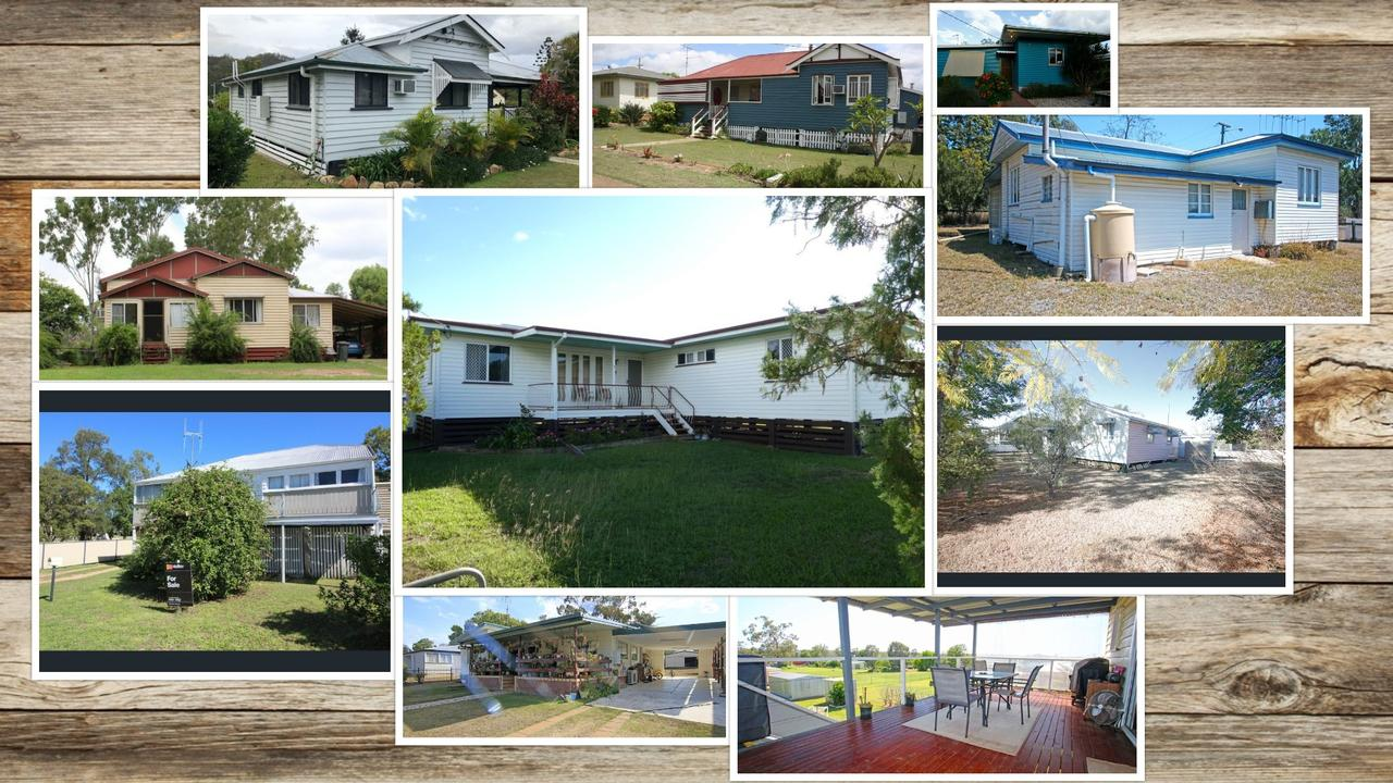 FOR SALE: Ten bargain houses currently for sale in the North Burnett.