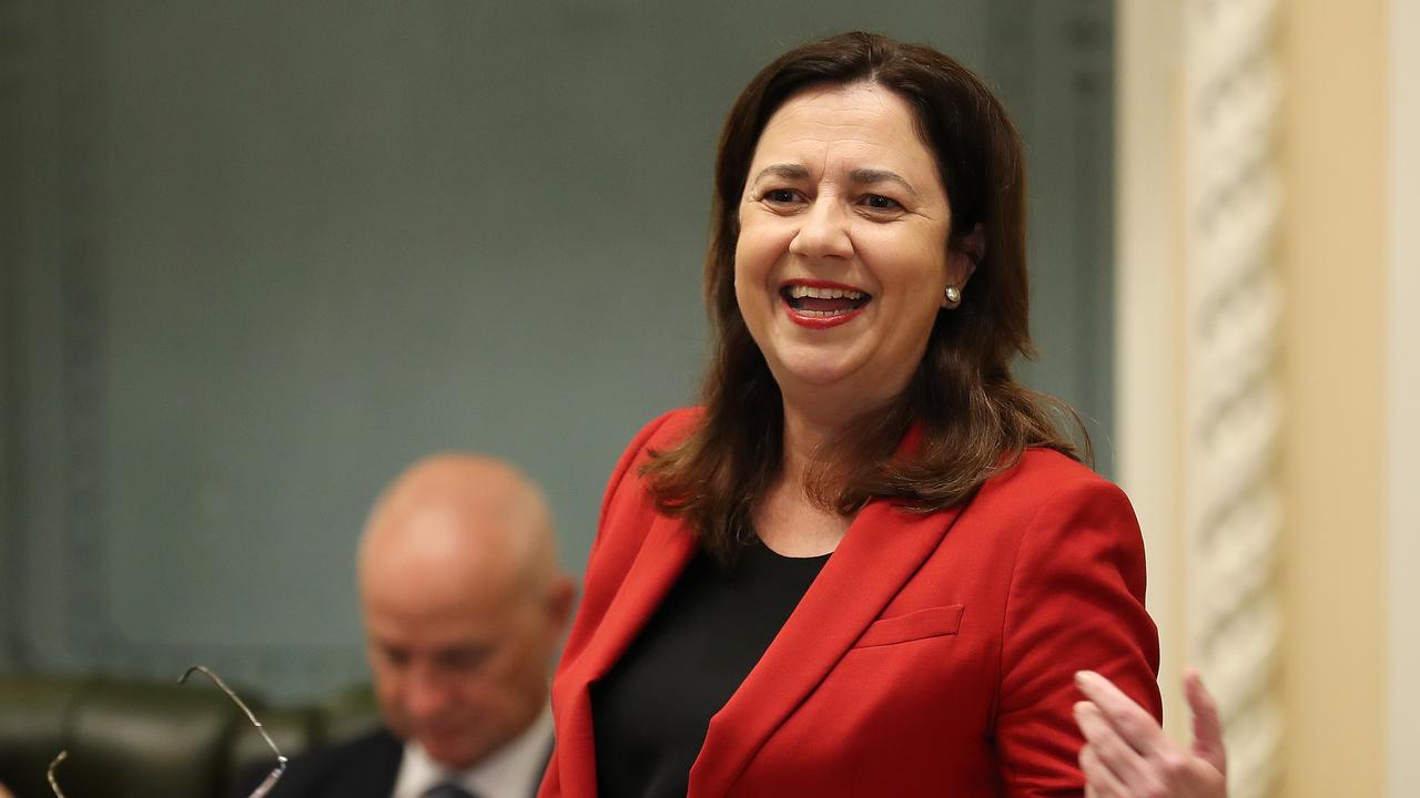 Premier Annastacia Palaszczuk has called on the Federal Government to commit to Sunshine Coast Stadium expansion. Picture: Liam Kidston.
