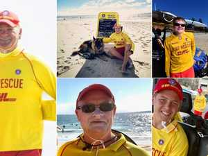 Coast lifesavers: Top volunteers who spend most time on sand