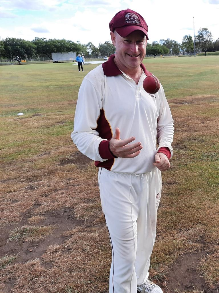 Centrals first division cricket captain Wayne Jones reflects on becoming the most capped player in Ipswich history. Picture: David Lems