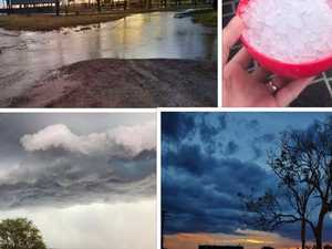 AFTERMATH: Storms bring heavy rainfall, hail to parts of region