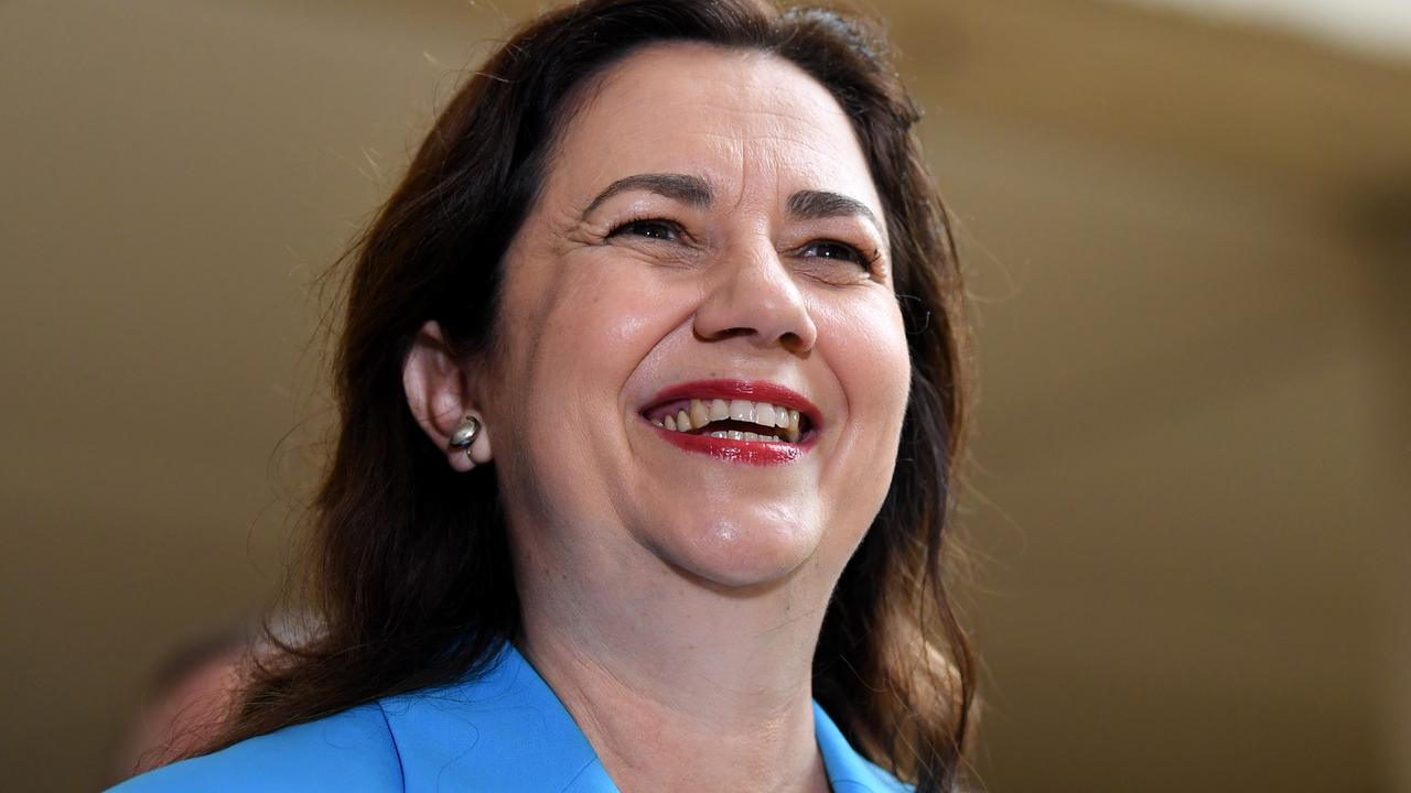 Premier Annastacia Palaszczuk has announced travel restrictions with Greater Melbourne will end Saturday. Picture: Dan Peled