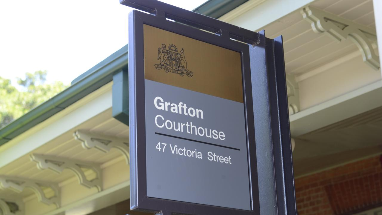 Grafton Courthouse was the scene of an emergency after an alleged offender became violent and aggressive while he was refused bail.