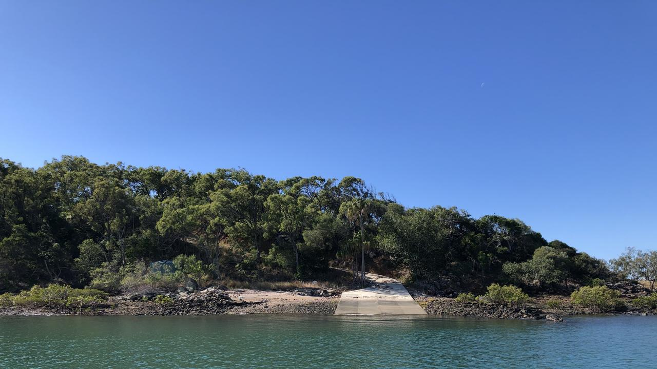 Compigne Island off the coast of Gladstone is about to be for sale.