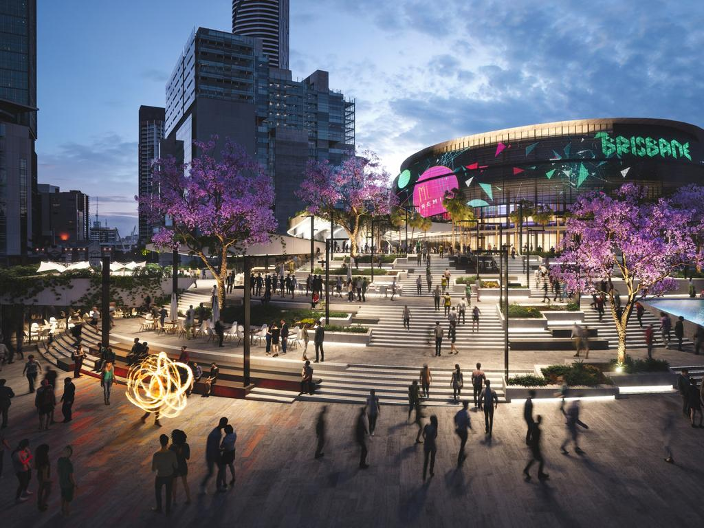 The proposed Brisbane Live venue.