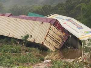 TRAIN CRASH: Up to 8000 litres of diesel spilled
