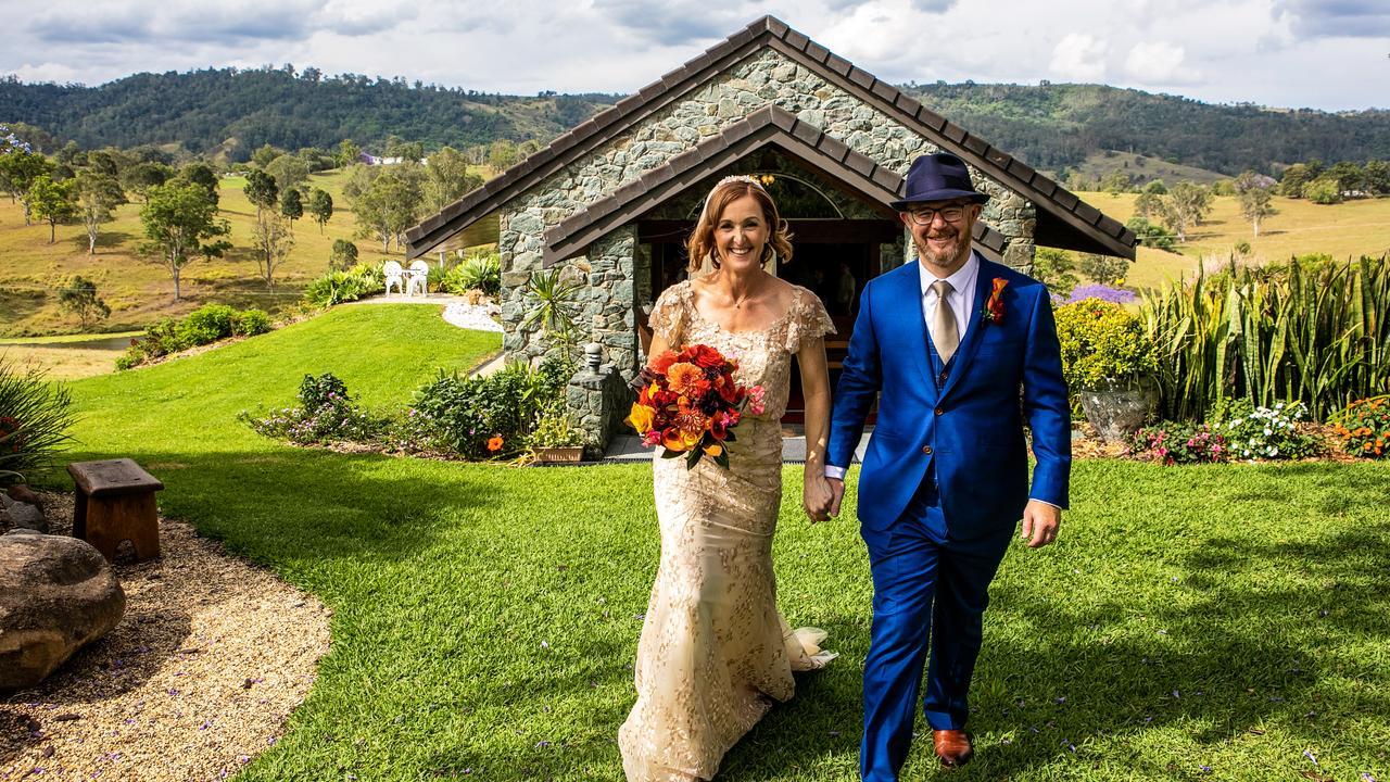 Meg Caughlan and Jason Miller. Picture: Ben Clark Photography.