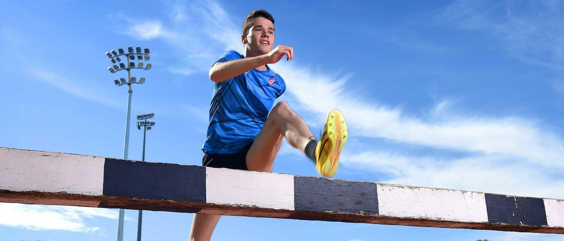 Max Stevens - steeplechase