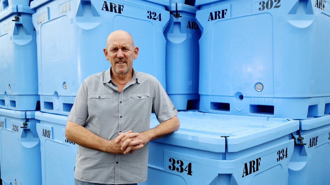 Cairns-based Australian Reef Fish Trading Company CEO Barry Dun. Picture: Stewart McLean