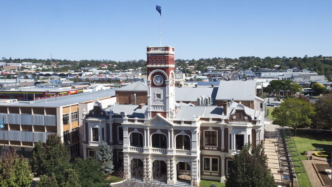 Toowoomba City Hall.