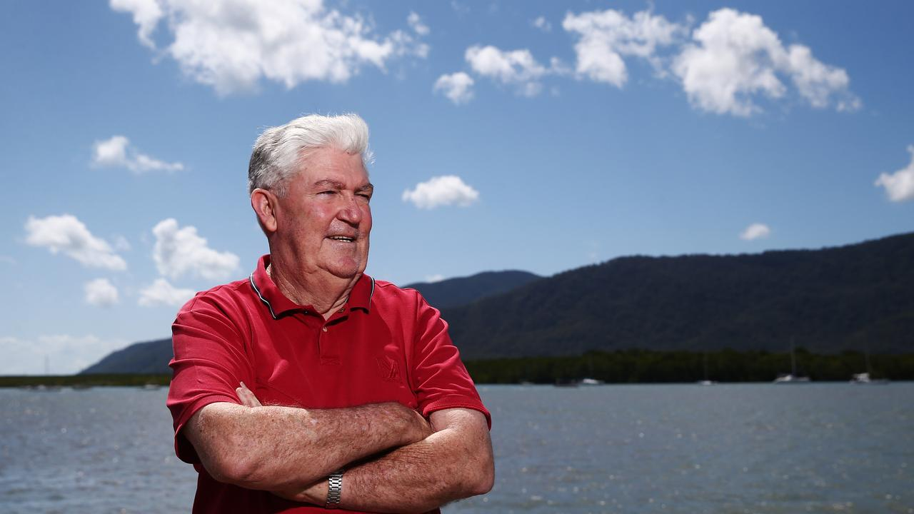 Executive manager of Enterprise North and former Cairns mayor Kevin Byrne. PICTURE: BRENDAN RADKE