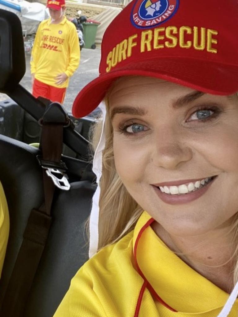 Candice Dover is a club captain at Metropolitan Caloundra Surf Lifesaving Club.