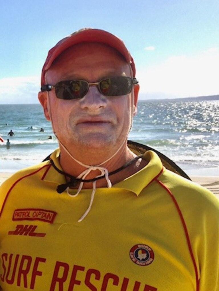 Brad Phillips from Bribie Island Surf Lifesaving Club.