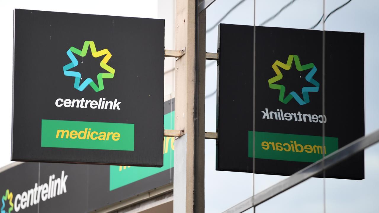 Centrelink. (AAP Image/James Ross)