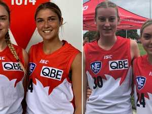 North Coast girls make history for Sydney Swans