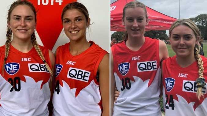 North Coast girls make history for Sydney Swans