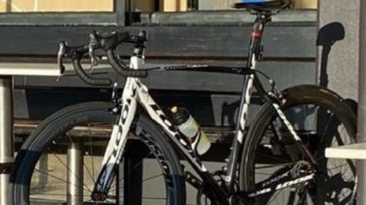 The actual Look bike that was stolen
