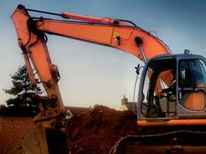 Whopping 350L of fuel siphoned from excavator near Bowen