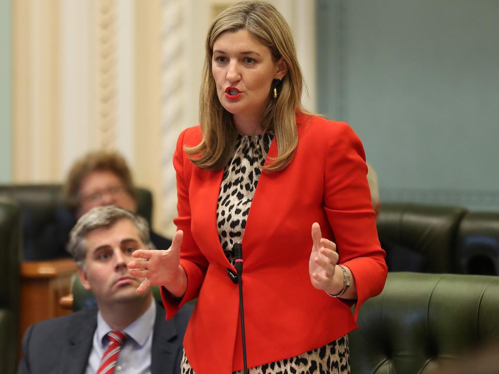 Attorney-General Shannon Fentiman said the government was pouring resources into the prevention of domestic and family violence and to assist victims. Picture: Liam Kidston