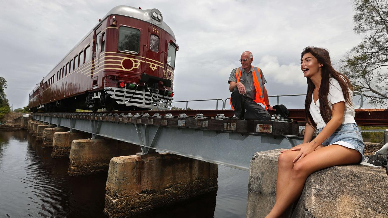 The not for profit Byron Bay Railroad Co. was been set up to ferry passengers from the Byron town centre to nearby northern beaches, and has become the world's first