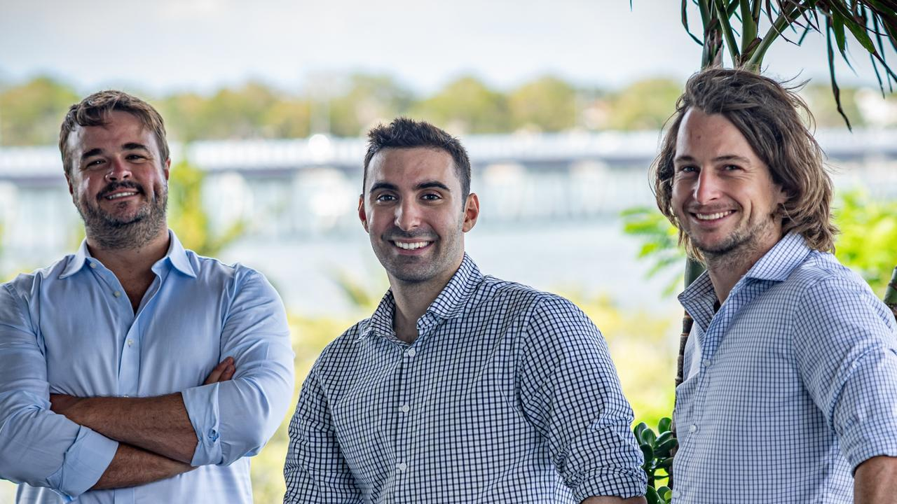 GreaseBoss co-founders L-R: Steve Barnett, Pete Condoleon, Tim Hall