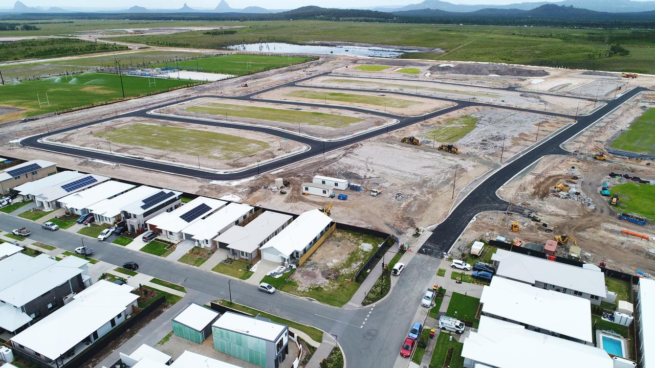 Stockland will release 30 new lots at Aura today in its newest suburb of Banya. Picture: Patrick Woods.
