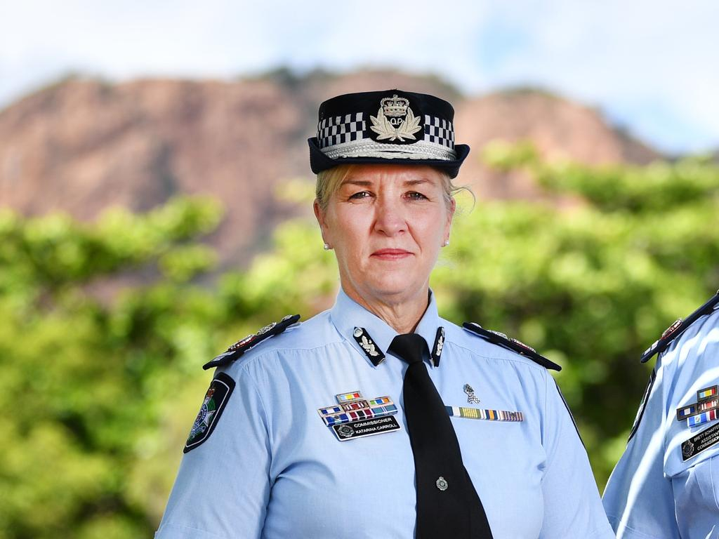 Queensland Police Commissioner Katarina Carroll. Picture: Alix Sweeney