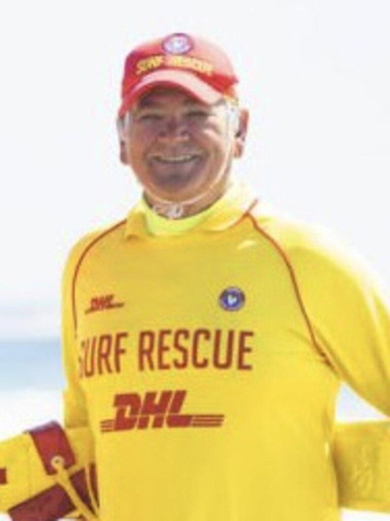 Ian Warburton is a patrol captain at Mooloolaba Surf Lifesaving Club.