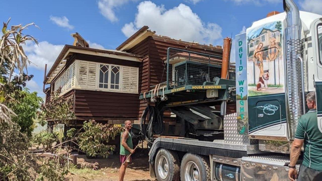The house was moved to from Bundaberg to River Heads.